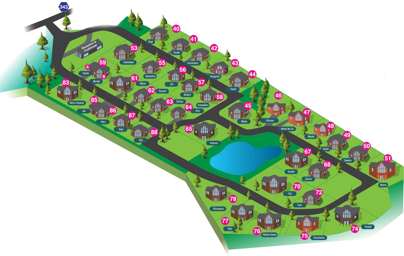 The Orchards Niseko Floor Plan | Hirafu, Niseko