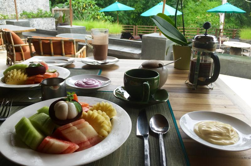 Breakfast at The Purist Villas