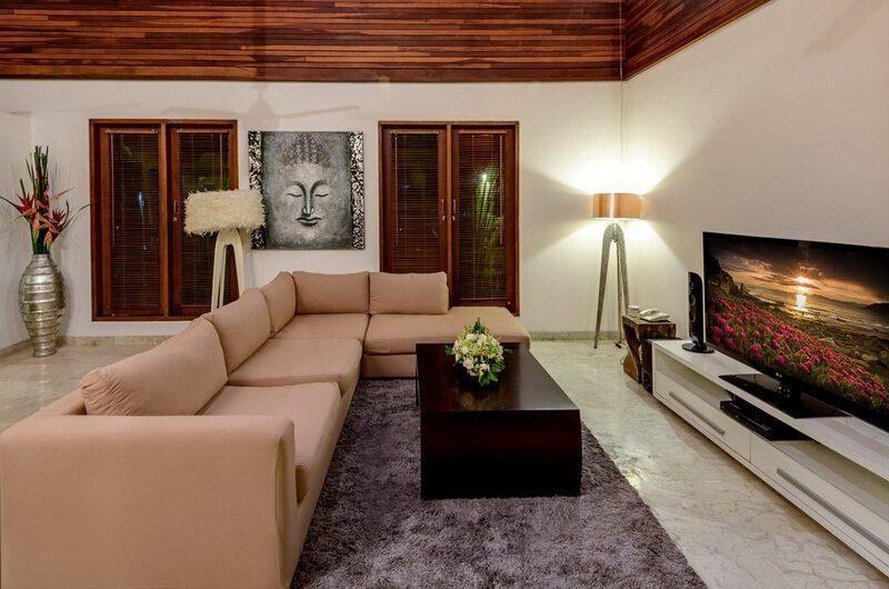 The Residence Villa Menari Residence Living Area   Seminyak, Bali