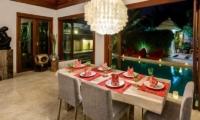 The Residence Villa Menari Residence Dining Area   Seminyak, Bali