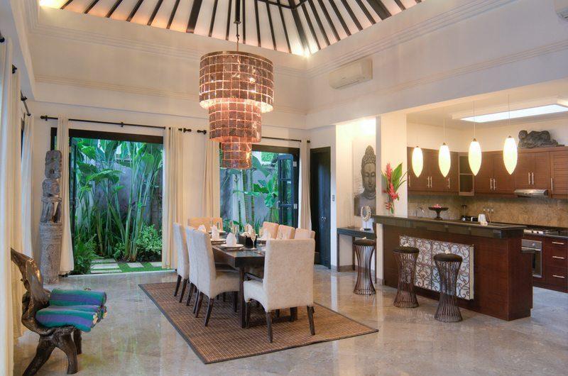 The Residence Villa Senang Residence Dining Area | Seminyak, Bali