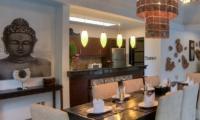 The Residence Villa Senang Residence Dining Room | Seminyak, Bali