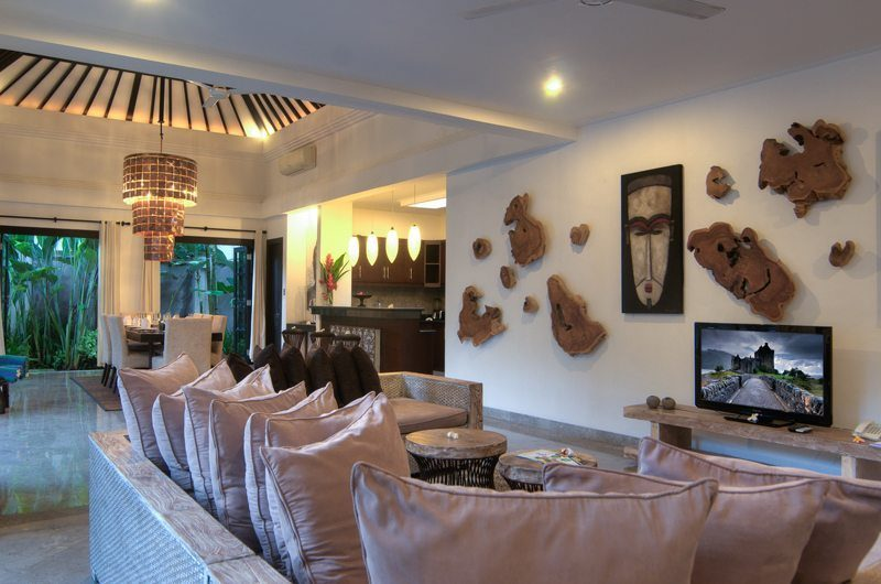 The Residence Villa Senang Residence Living Room | Seminyak, Bali