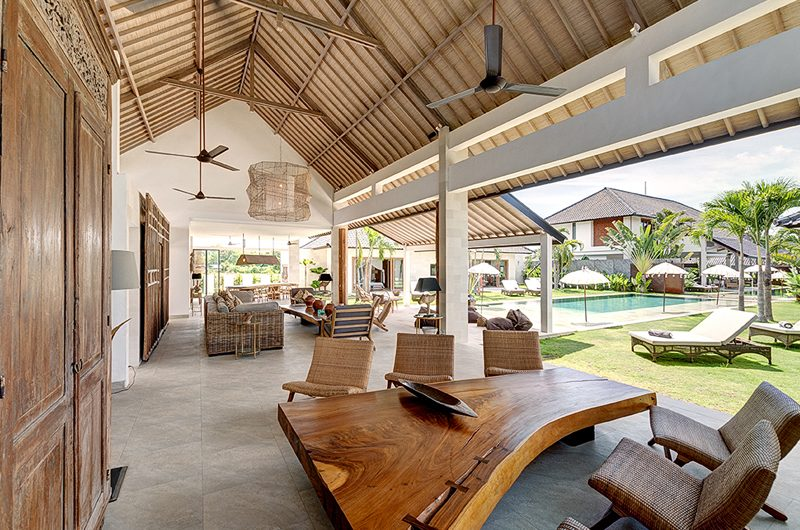 Villa Iluh Open Plan Living Area | Petitenget, Bali