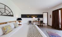 Villa Iluh Spacious Bedroom with Study Table | Petitenget, Bali