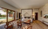 Villa Iluh Bedroom with Seating Area | Petitenget, Bali