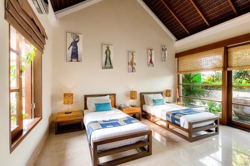 Villa Karma Gita Twin Bedroom | Uluwatu, Bali