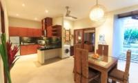 Villa Seriska Seminyak Kitchen And Dining Area | Seminyak, Bali
