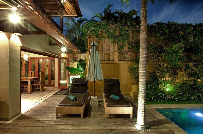 Villa Seriska Seminyak Pool Deck | Seminyak, Bali