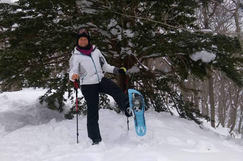 Snowshoeing in Niseko