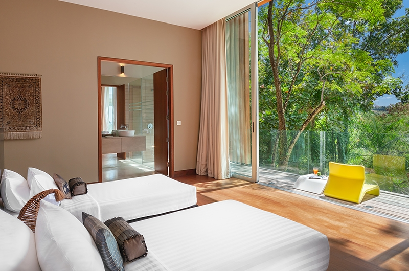 Villa Mayavee Twin Bedroom Area | Kamala, Phuket