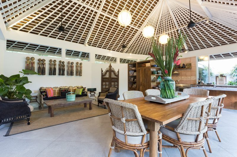 Hidden Villa Bali Living And Dining Area | Canggu, Bali