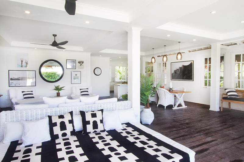 Ocean Prime Villa Living and Dining Room | Canggu, Bali