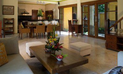 Rumah Bali Villa Bougainvillea Living And Dining Room | Nusa Dua, Bali