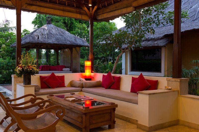 Rumah Bali Villa Frangipani Open Pan Living Area | Nusa Dua, Bali
