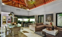 The Residence Villa Amala Residence Living And Dining Room | Seminyak, Bali