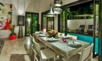 The Residence Villa Amala Residence Dining Area | Seminyak, Bali