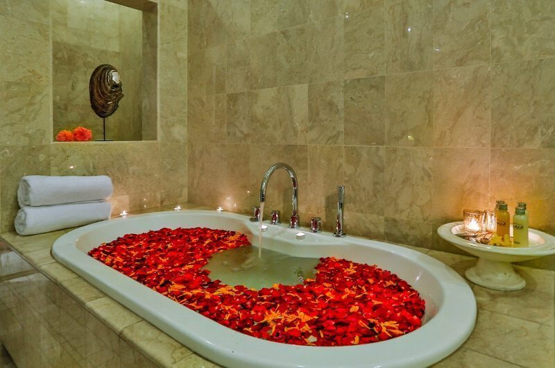 The Residence Villa Amala Residence Bathtub | Seminyak, Bali
