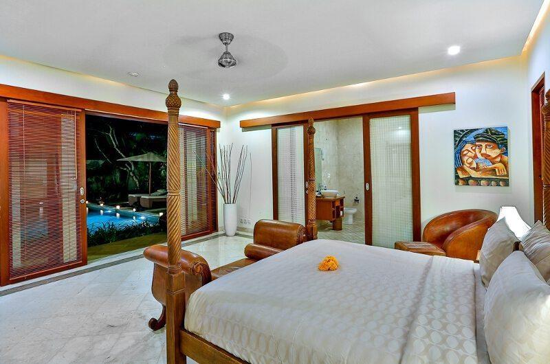 The Residence Villa Shanti Residence Master Bedroom Side View | Seminyak, Bali