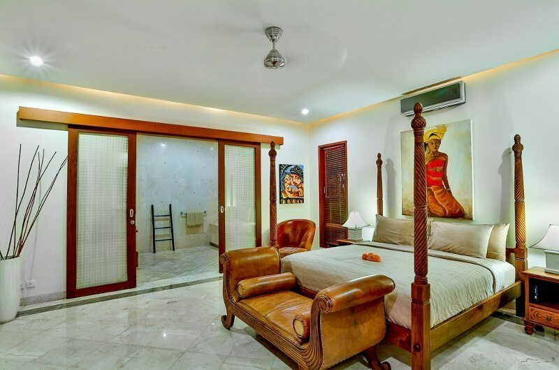 The Residence Villa Shanti Residence Master Bedroom | Seminyak, Bali