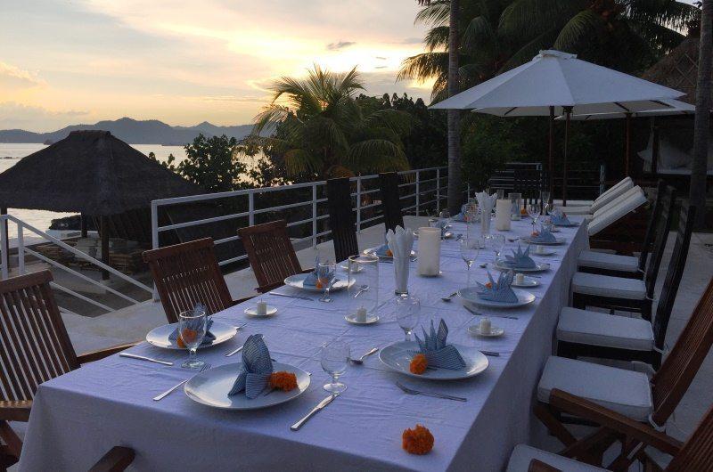 Villa Jukung Dinner