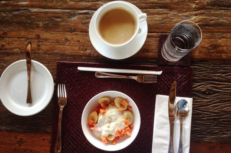 Breakfast at Villa Tangram