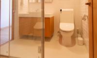 Akari Bathroom Area | Hirafu, Niseko