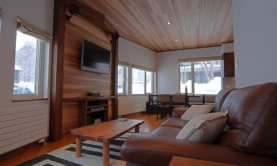 Shirayuki Lodge Living Room | Hirafu, Niseko