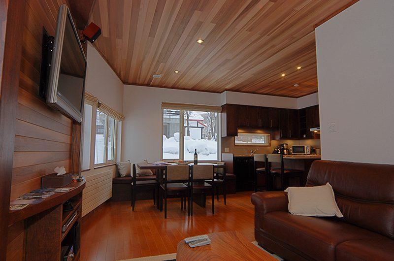 Shirayuki Lodge Dining and Living Area | Hirafu, Niseko