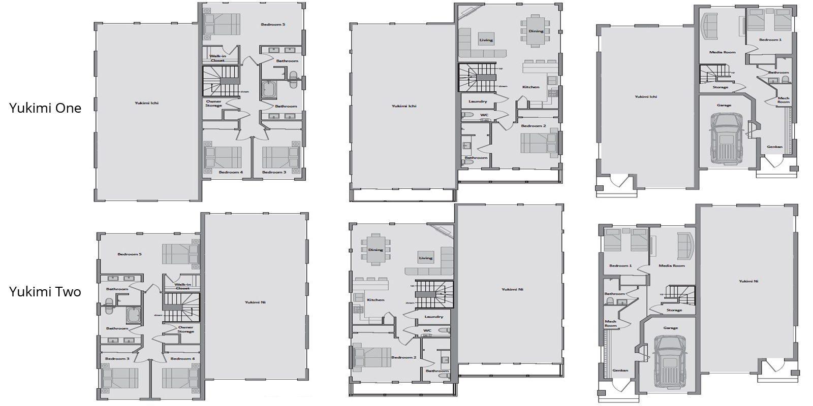 Yukimi Floorplan | Hirafu, Niseko