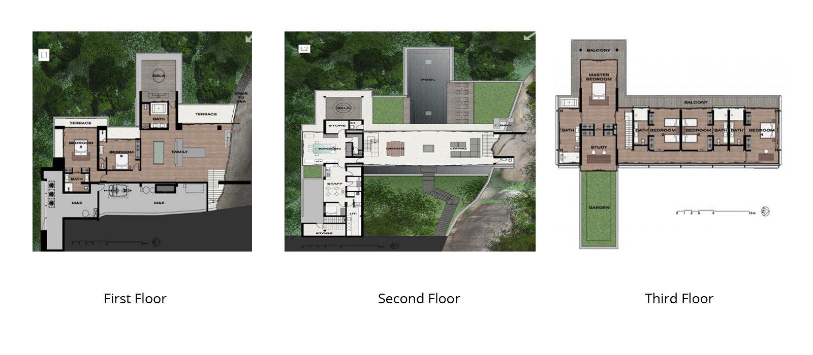 Villa Amanzi Floorplan | Kamala, Phuket