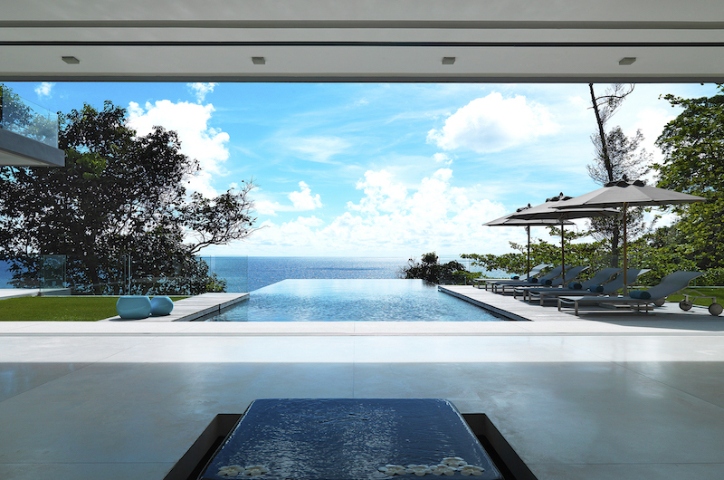 Villa Amanzi Swimming Pool Side Area | Kamala, Phuket