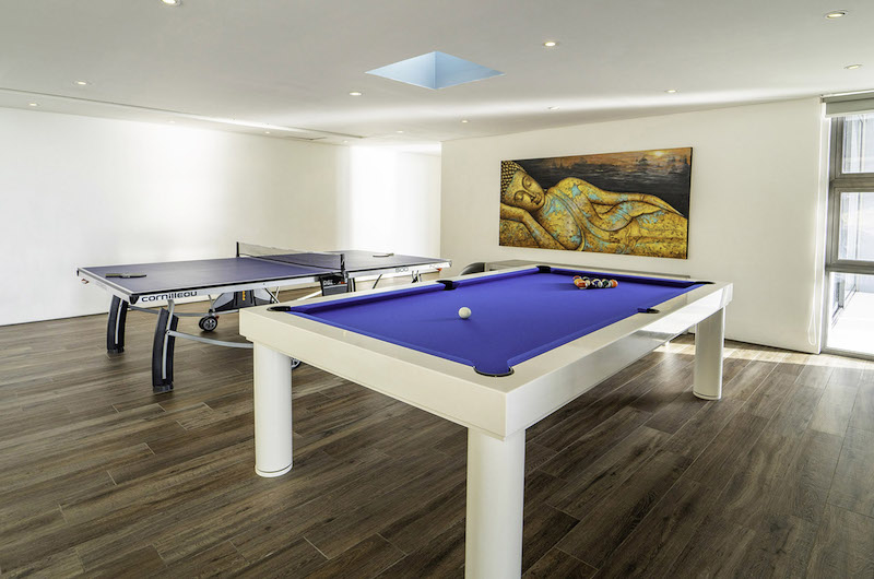 Villa Amanzi Pool Table | Kamala, Phuket