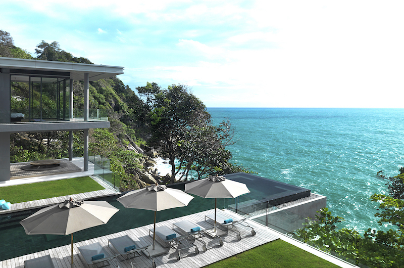 Villa Amanzi Swimming Pool with Ocean Views | Kamala, Phuket