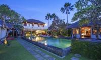 Imani Villas Villa Mahesa Pool And Garden   Umalas, Bali