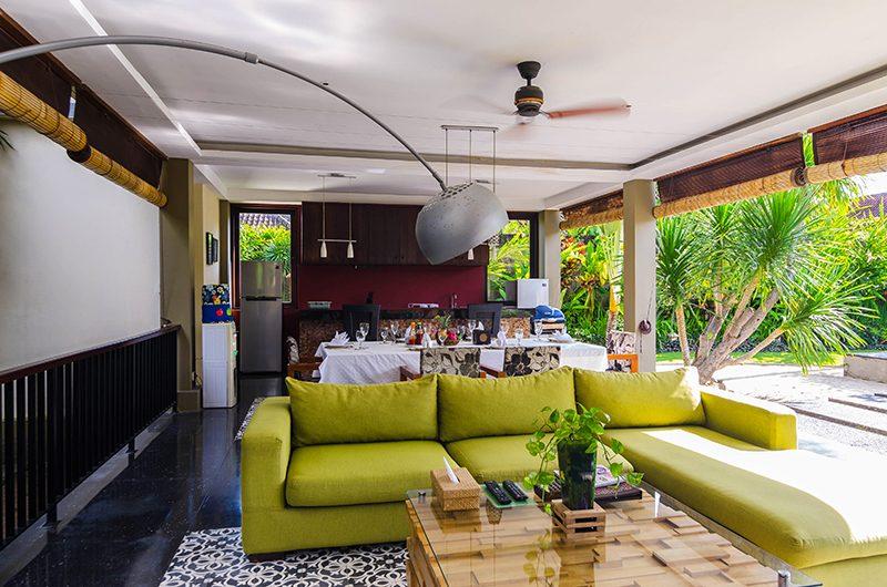 Imani Villas Villa Mahesa Living Room | Umalas, Bali