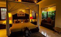 Imani Villas Mahesa Night View Bedroom | Umalas, Bali