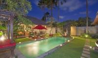 Imani Villas Villa Malika Garden And Pool   Umalas, Bali