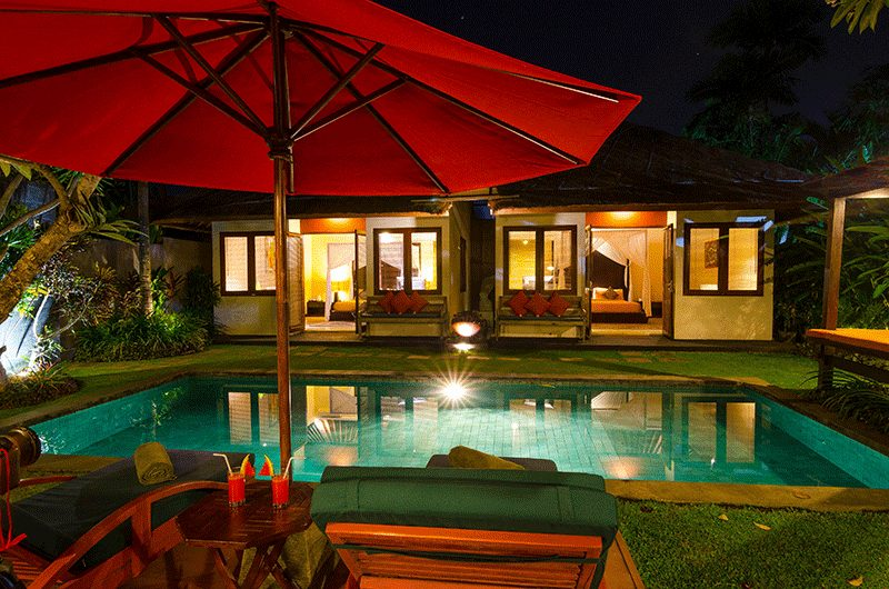 Imani Villas Malika Night Pool View | Umalas, Bali