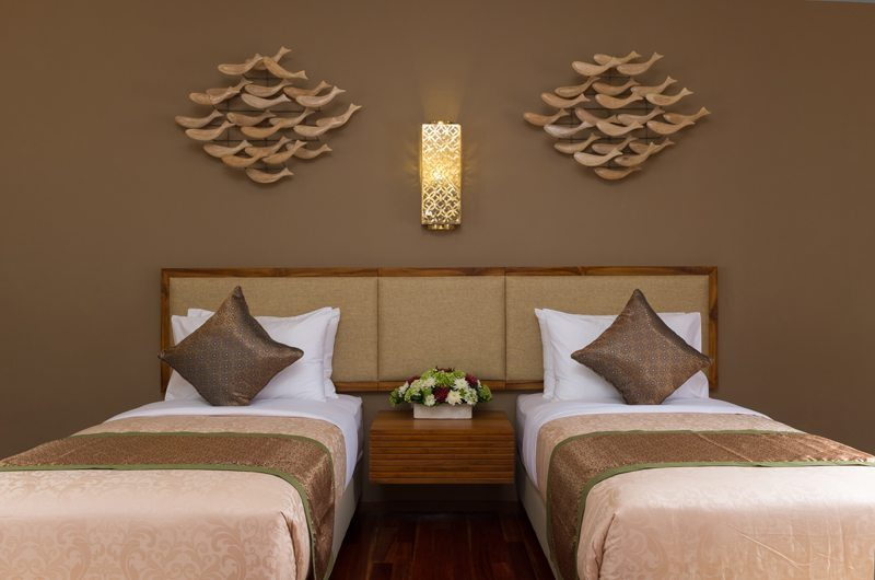 Villa Alin Twin Bedroom | Seminyak, Bali