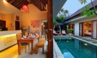 Villa Ashna Dining Room   Seminyak, Bali