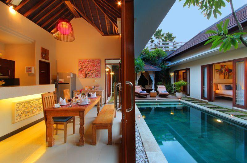 Villa Ashna Dining Room | Seminyak, Bali