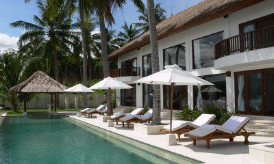 Villa Blanca Sun Deck | Candidasa, Bali