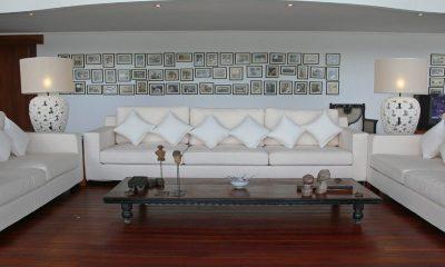 Villa Blanca Living Room | Candidasa, Bali