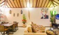 Villa Chez Ami Living And Dining Room   Legian, Bali