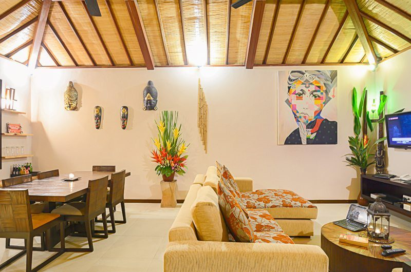 Villa Chez Ami Living And Dining Room | Legian, Bali