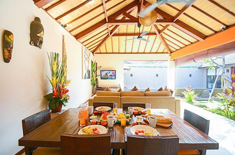 Villa Chez Ami Living And Dining Pavilion   Legian, Bali