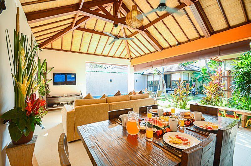 Villa Chez Ami Dining Pavilion   Legian, Bali