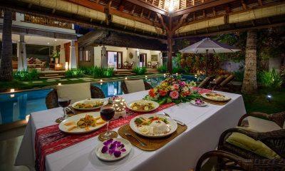 Villa Gils Dining Pavilion | Candidasa, Bali