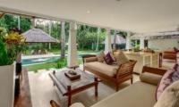 Villa Gils Living And Dining Pavilion | Candidasa, Bali